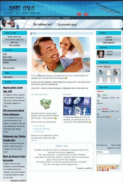 Bedrift hjemmeside - Avansert