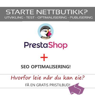 Nettbutikk - Prestashop